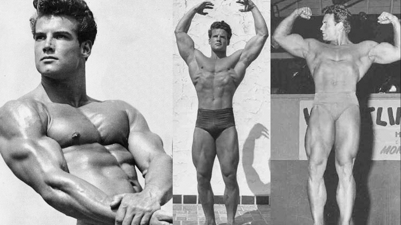 Steve Reeves' Classic Workout Regimen – Fitness Volt