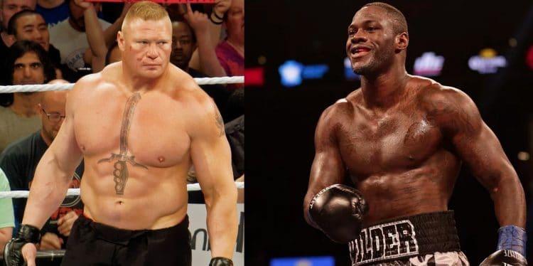 Deontay Wilder vs. Brock Lesnar