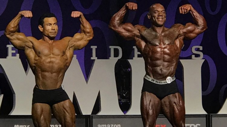 Flex Wheeler On Stage at Olympia 2017 Classic Physique