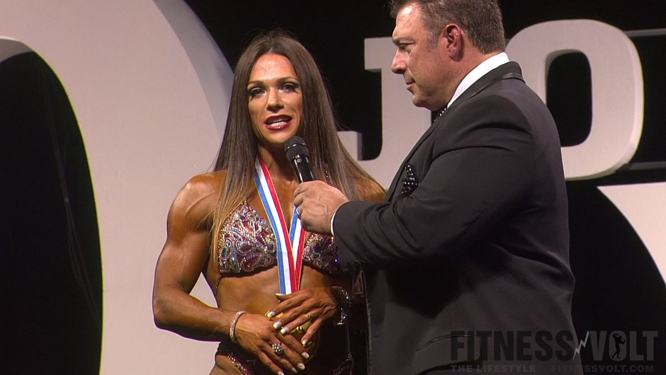 Oksana Grishina 2017 Ms. Fitness Olympia
