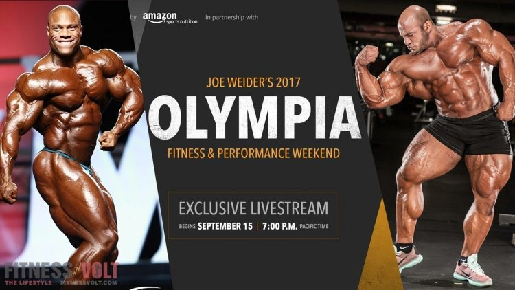 Watch the 2017 MR. OLYMPIA
