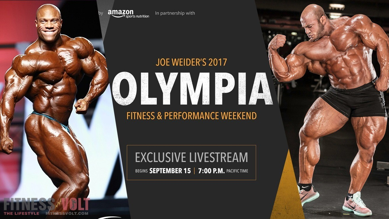 How To Watch Mr Olympia 2017 2017 Mr Olympia Live