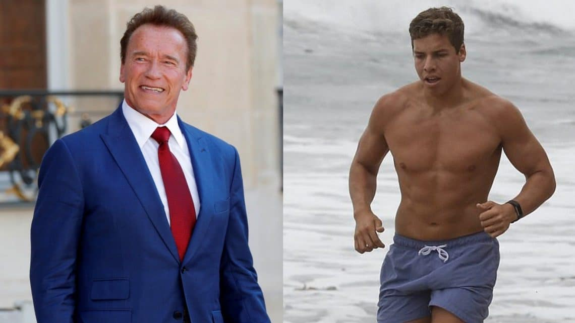 Arnold Schwarzenegger Hits The Gym With Son Joseph Baena ...