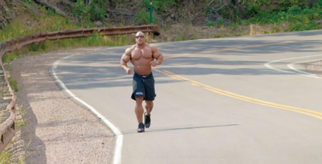 Phil Heath Running