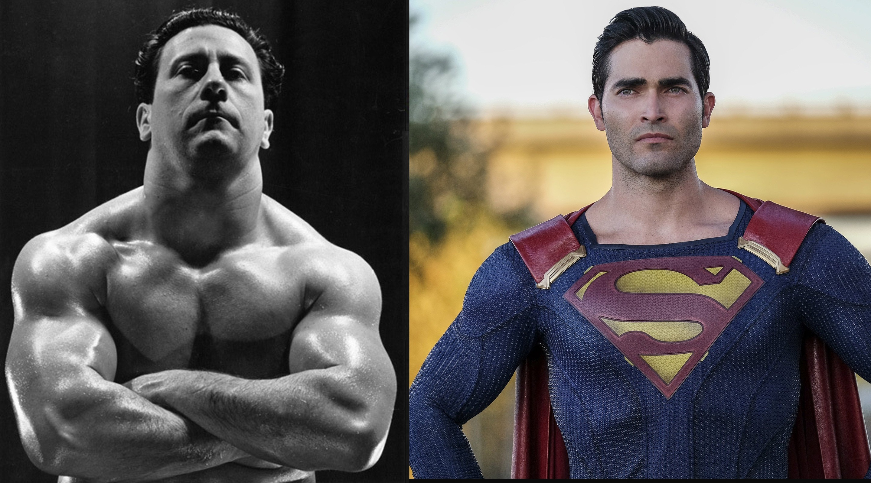 Tyler Hoechlin to play a young Joe Weider.