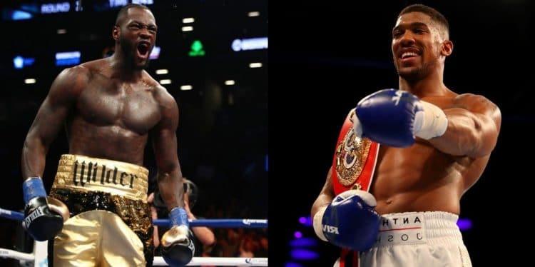 Anthony Joshua vs Deontay Wilder