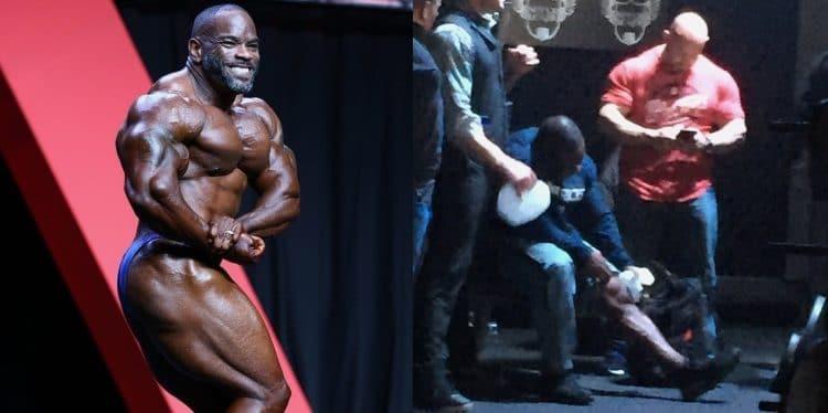 Johnnie O. Jackson injures himself squatting 425 at Super League