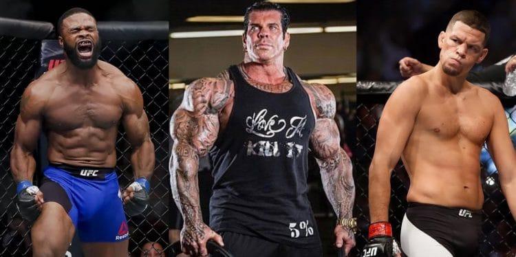 Tyron Woodley vs Nate Diaz