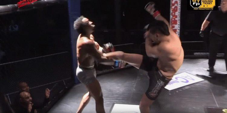 Brutal MMA KO Ever