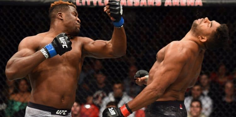 UFC 218 Francis Ngannou