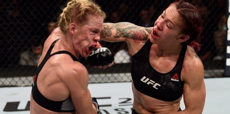 UFC 219 Cris Cyborg vs Holly Holm