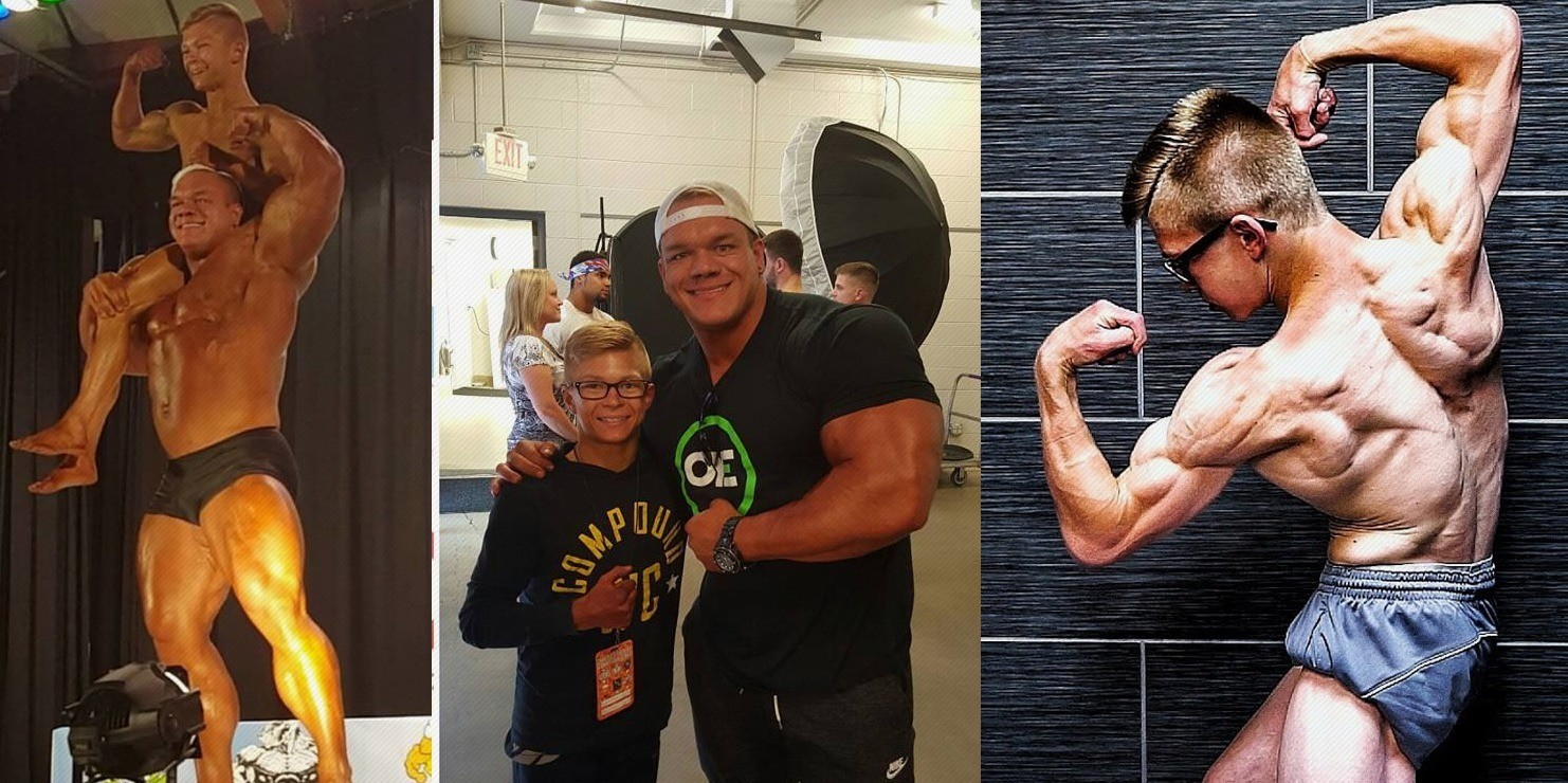 WATCH: Dallas McCarver's Last Guest Posing with 16-year-old Wonderkid Manny Drexler – Fitness Volt