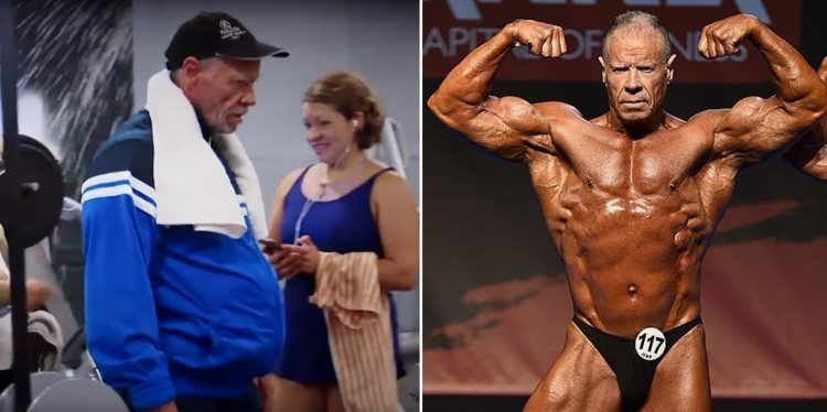 Spanish bodybuilder Rafael Vera
