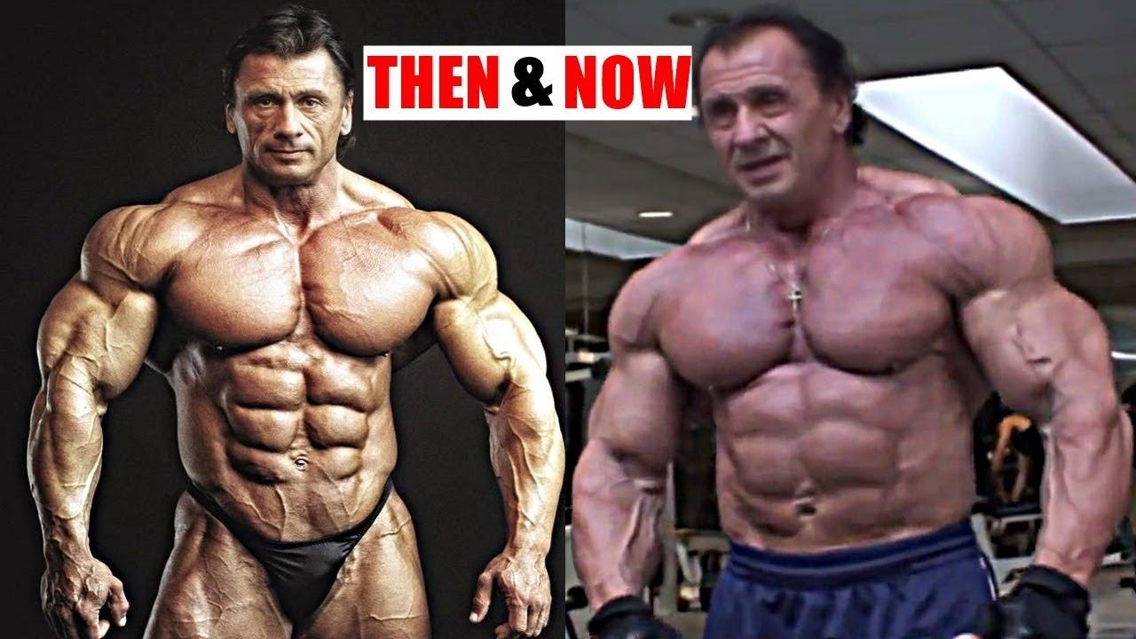 watch  bodybuilder pavol jablonicky 55 still works out