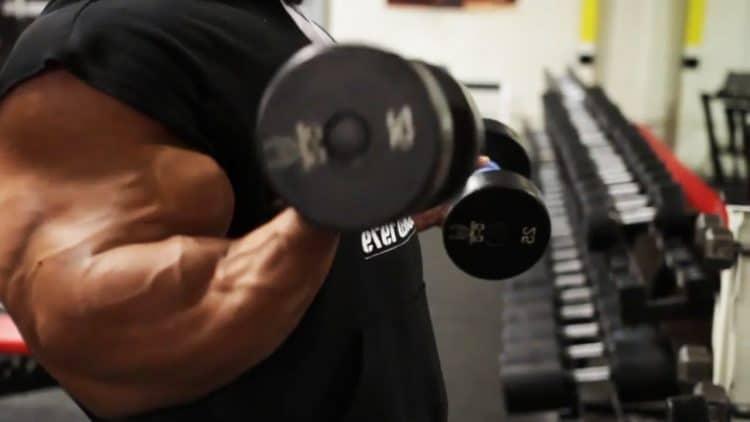 Phil Heath's Full Arm Workout