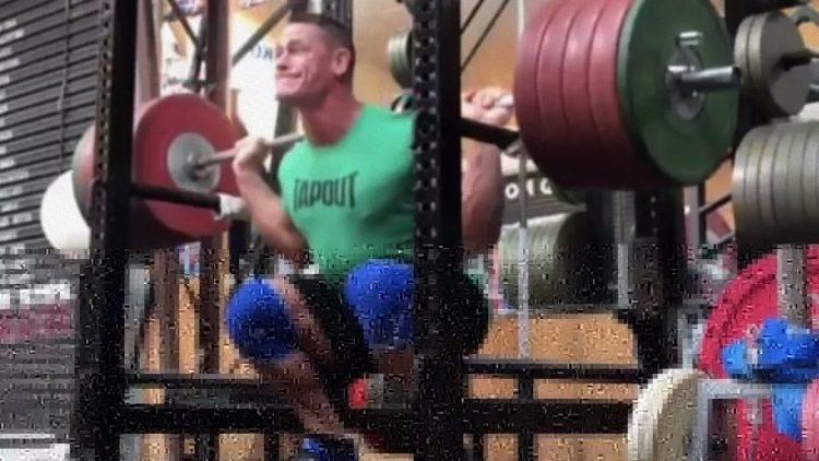 John Cena Squat