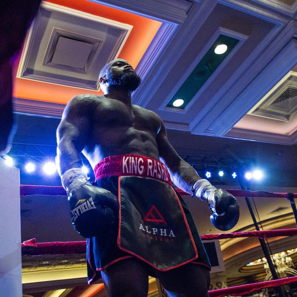 WATCH: Mike Rashid Wins His Pro Debut Boxing Match