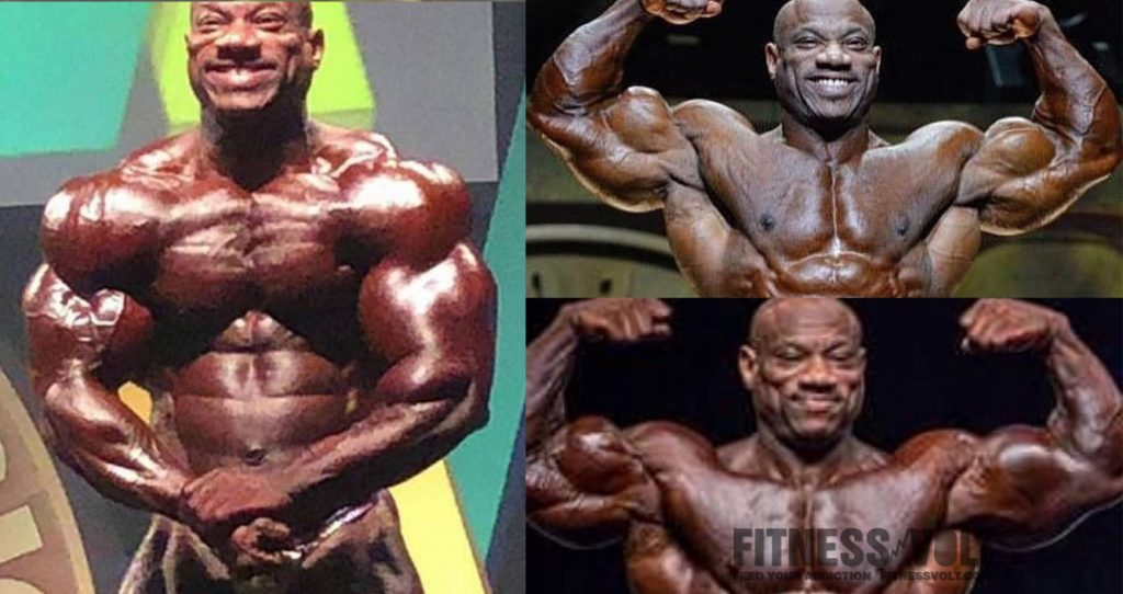 Dexter Jackson injured bicep in Australia