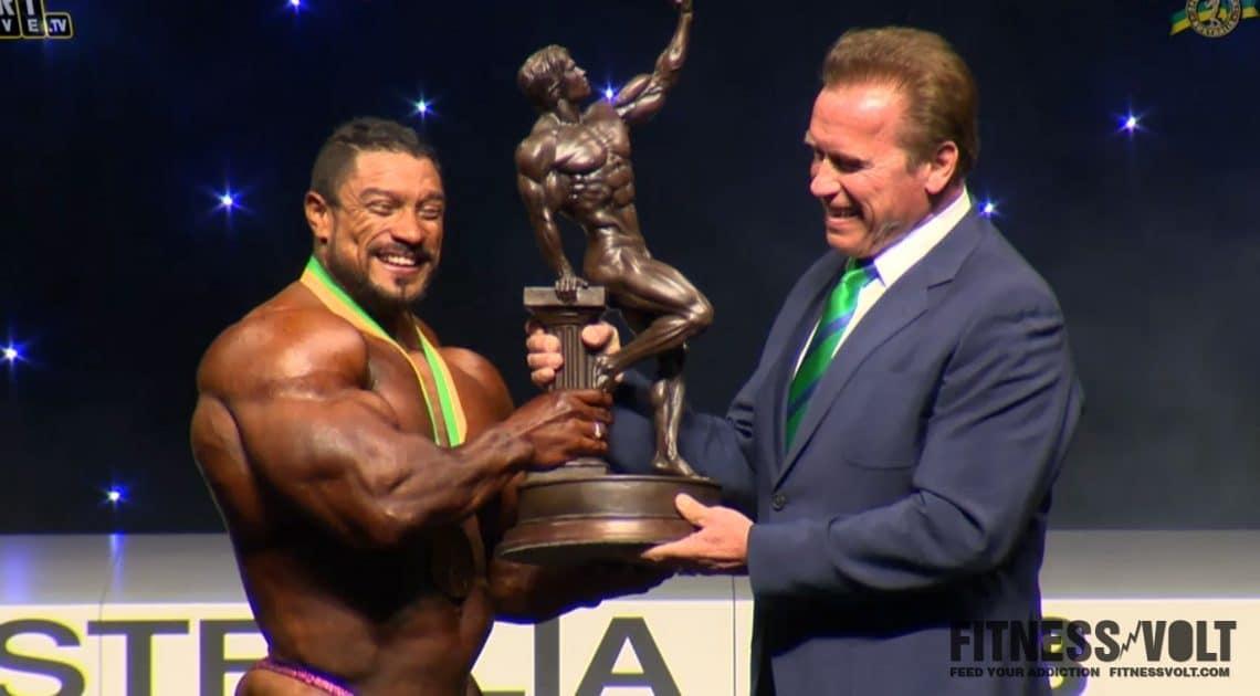 arnold classic australia 2018  open bodybuilding results
