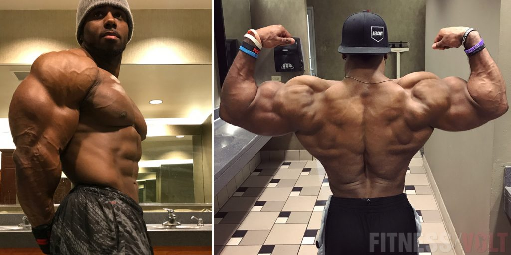 Bodybuilder Chris Hester