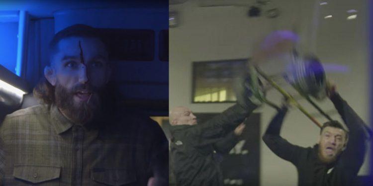Conor McGregor Bus Attack Video