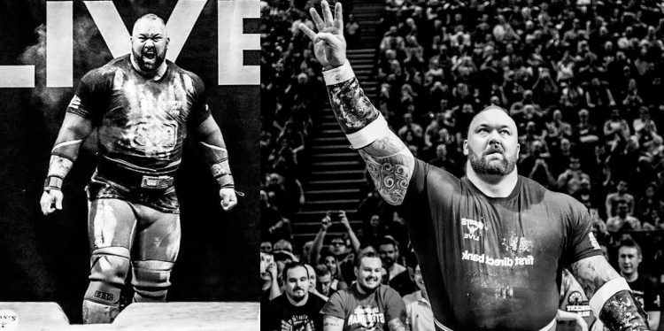 Hafthor Bjornsson Wins 2018 Europe's Strongest Man