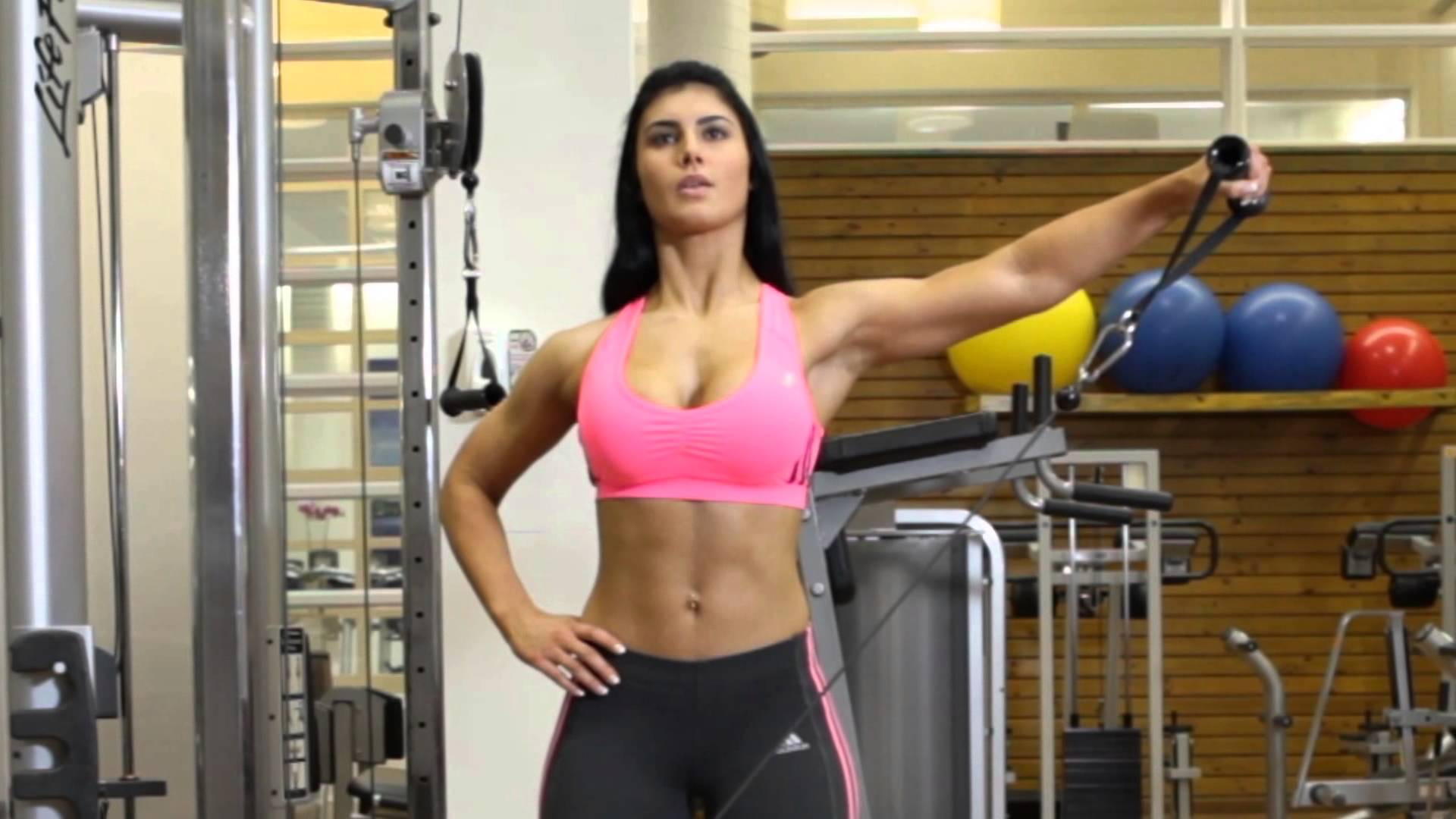 Cable One Arm Lateral Raise Fitness Volt
