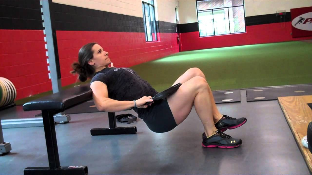 Weighted One-Leg Hip T...