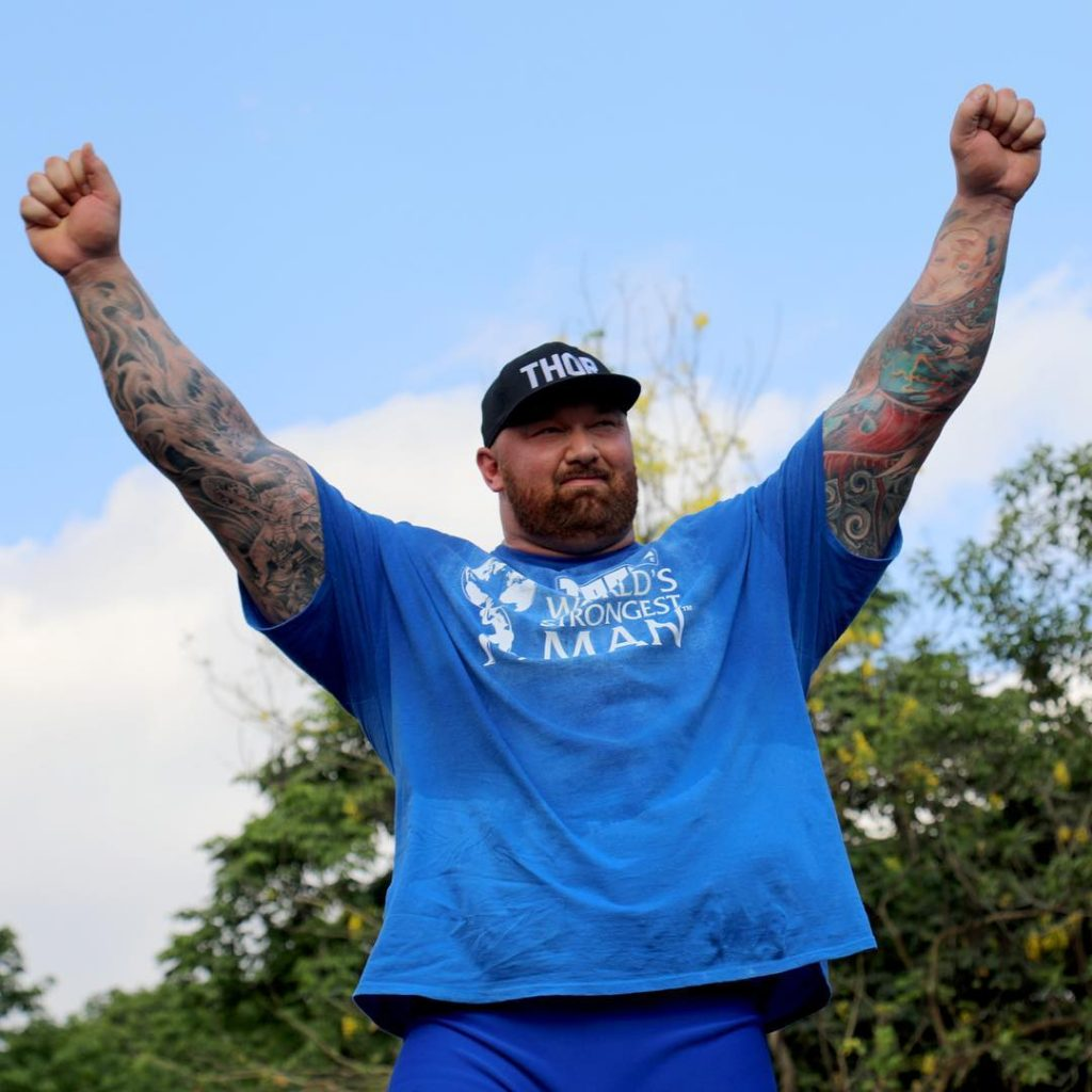 The 'Mountain' from 'GoT' Wins Title of World's Strongest Man