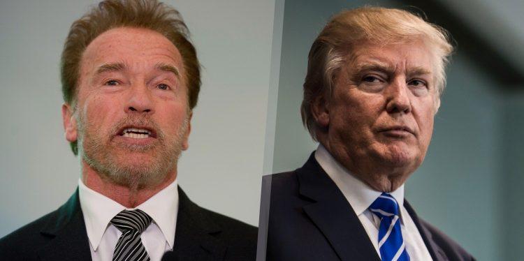 Arnold Schwarzenegger Roasts Donald Trump