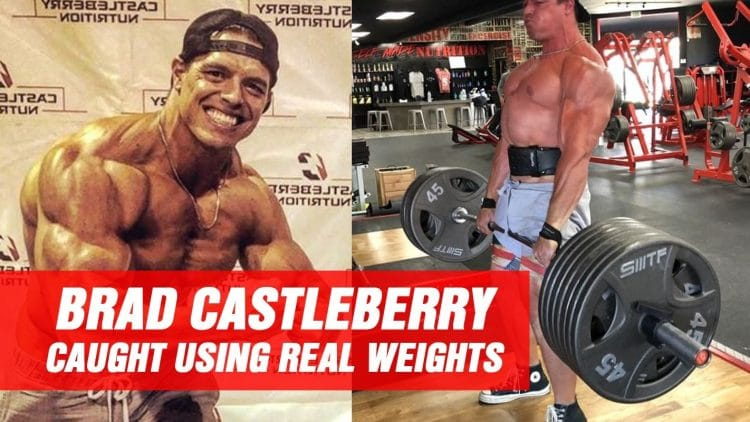 Brad Castleberry Finally Lifting Real Weights!