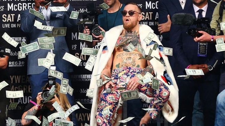 Conor McGregor Out of Money