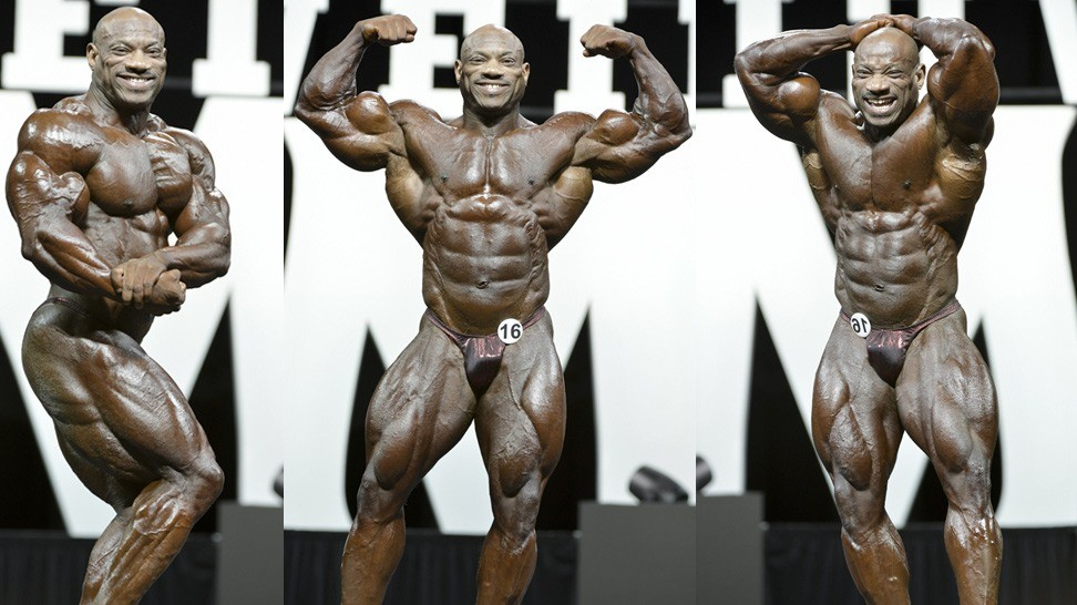 Dexter Jackson People's Champ