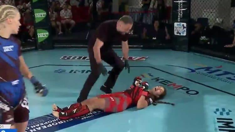 Jenni Kivioja Delivers Most Savage Knockout