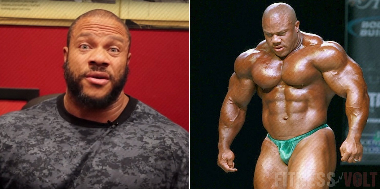 WATCH: Phil Heath Talks About Clean Bulk – Fitness Volt