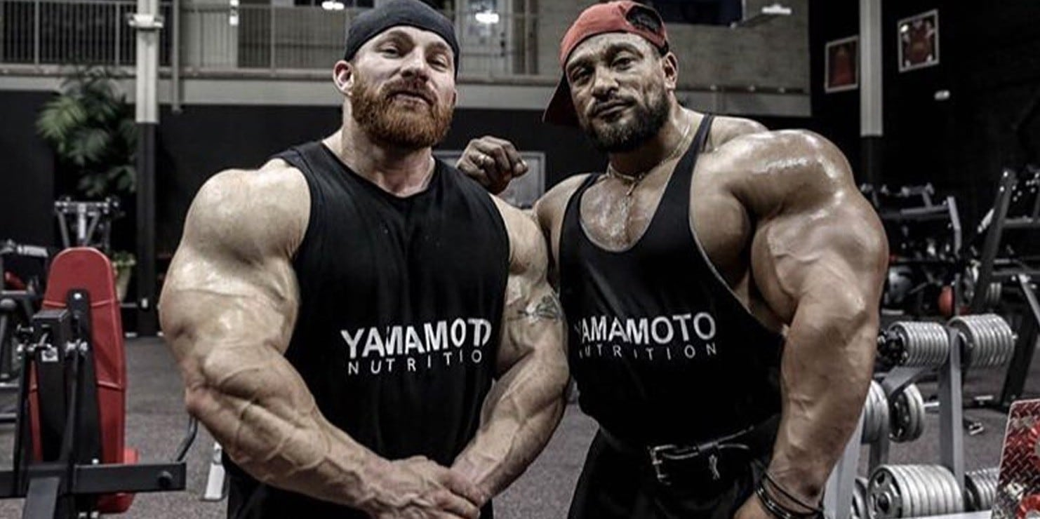 road to olympia 2018  roelly winklaar and flex lewis are