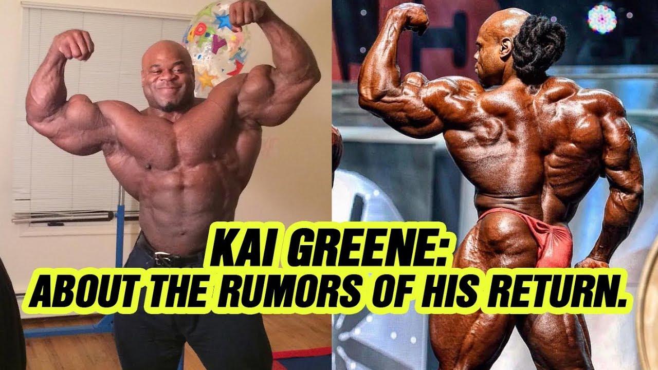 Kai Greene Responds To Mr. Olympia