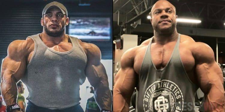 Big Ramy vs Phil Heath