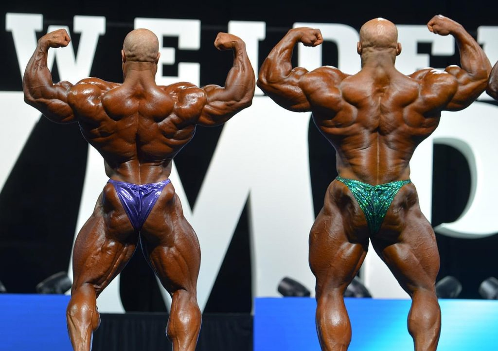 Big Ramy vs Phil Heath Back Shot
