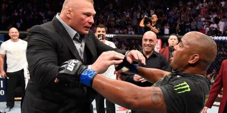 White confirms Brock Lesnar vs. Daniel Cormier