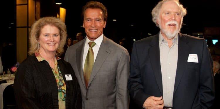 Todd and Arnold Schwarzenegger