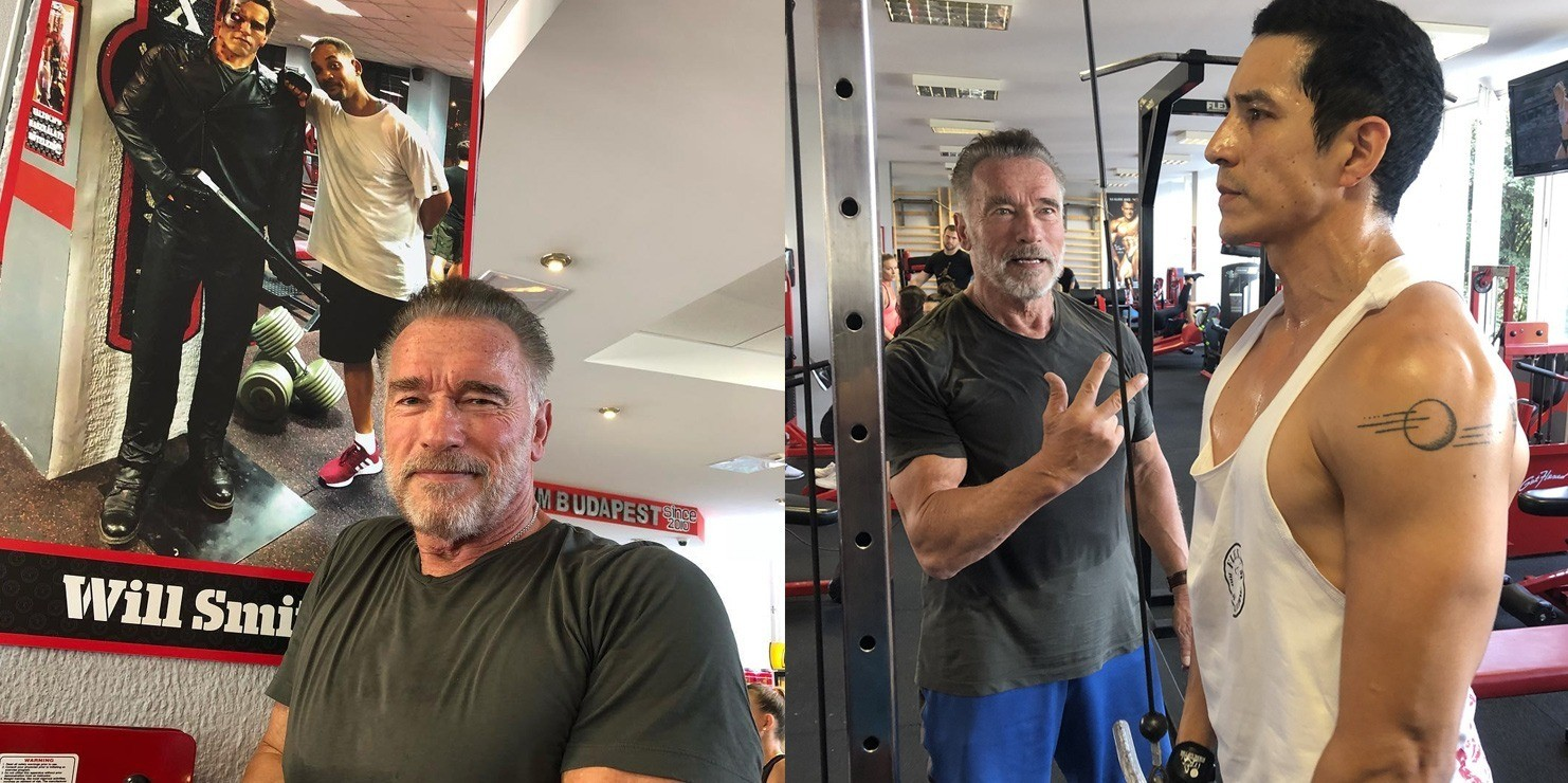 Arnold Schwarzenegger Pumping Iron And Training Gabriel
