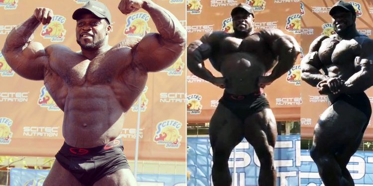 Brandon Curry Shows Off Jacked Physique