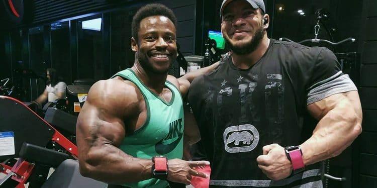 Breon Ansley and Big Ramy