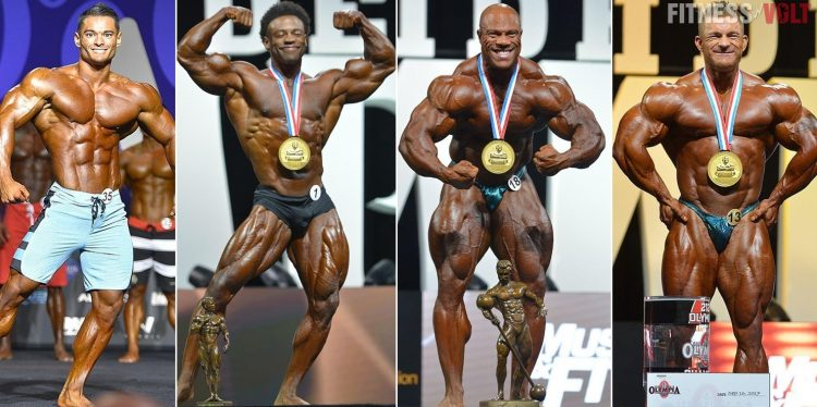 Men's & Classic Physique, 212 And Open Weight