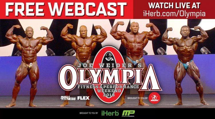 2018 Mr. Olympia Live Stream