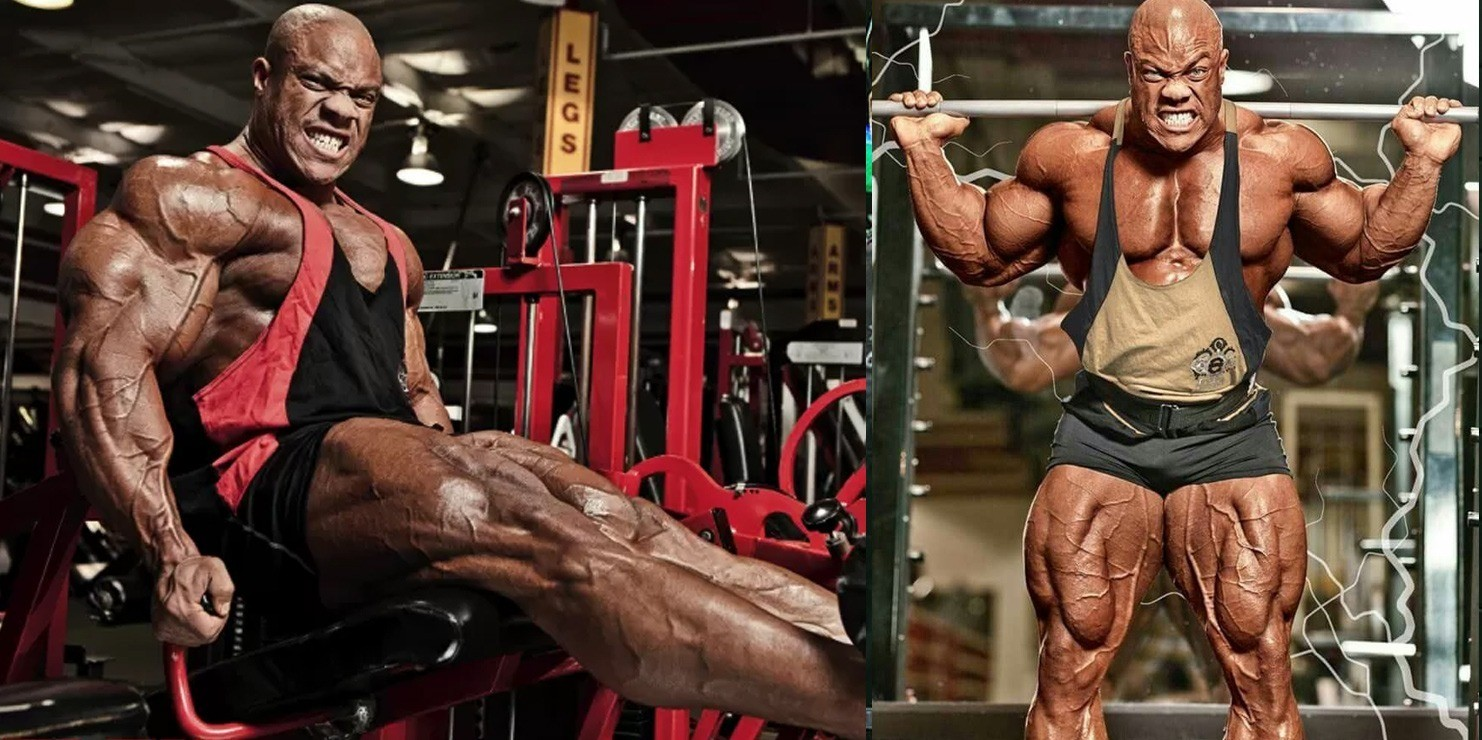 Phil Heath Leg Workout