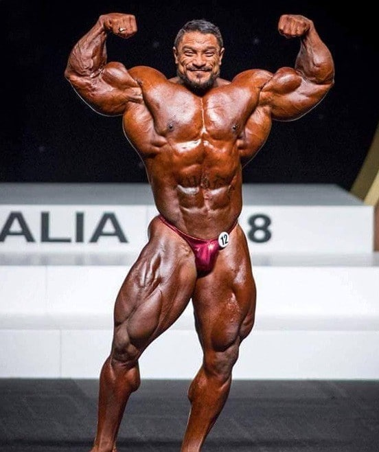 Roelly Winklaar at Mr. Olympia 2018