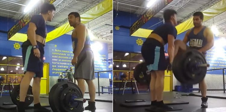 Teenager Attacked For Deadlifting
