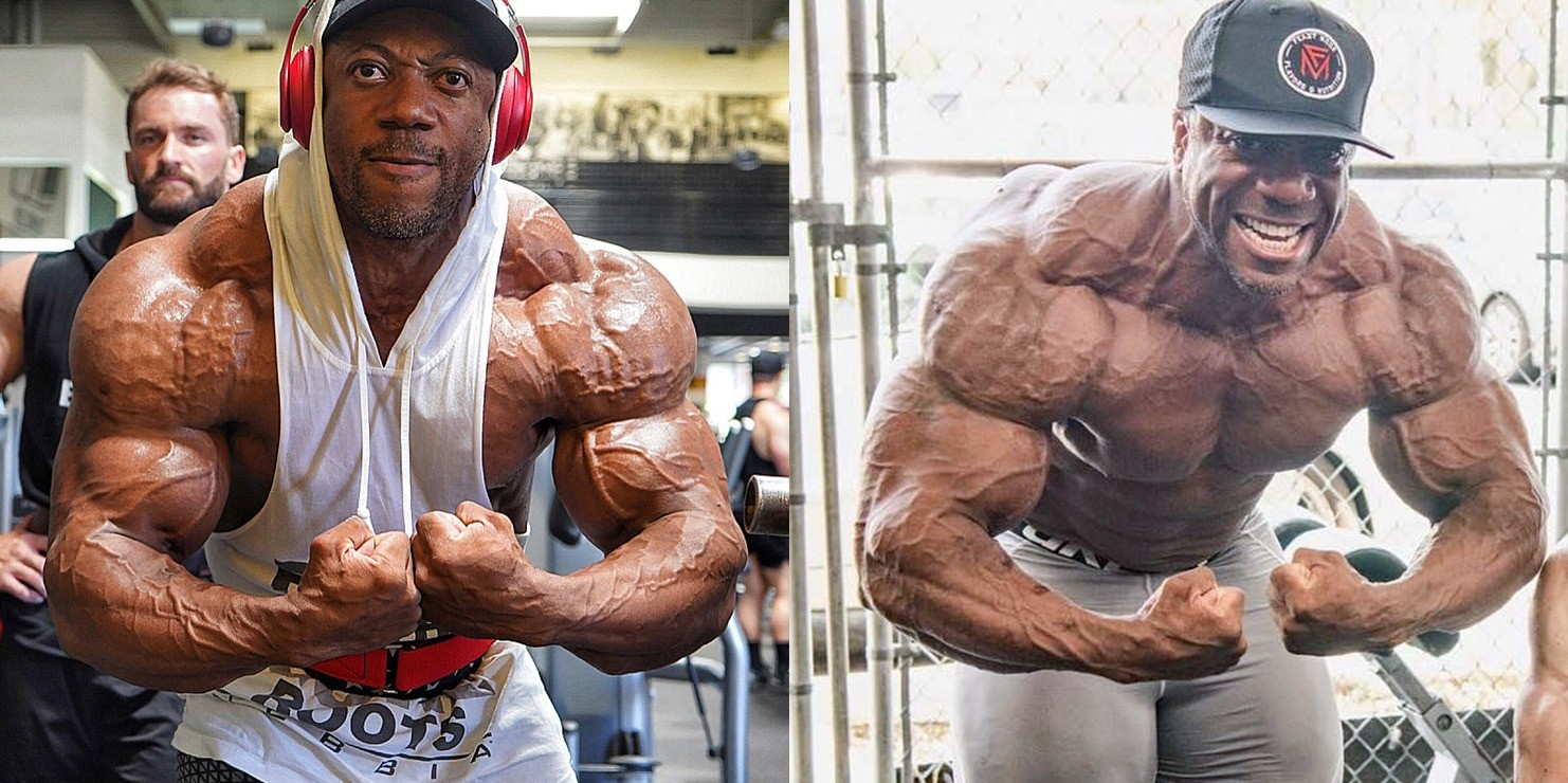 Shawn Rhoden Is Looking Powerful Vascular And Shredded